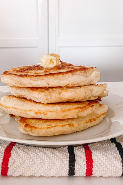 The Best Fluffy Old Fashioned Pancakes